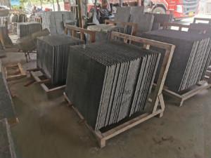 石材材料堆放区域