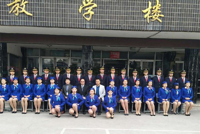 甘南轨道交通运营管理专业学员风采
