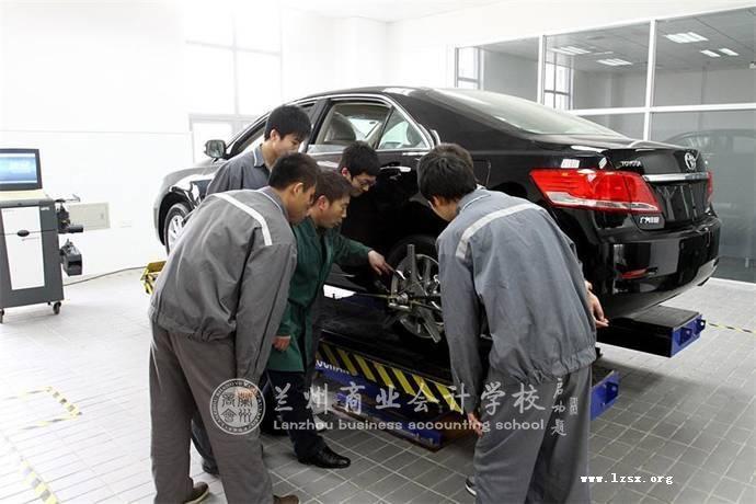 汽车应用与维修学员就业