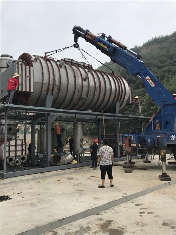 设备吊装搬运团队