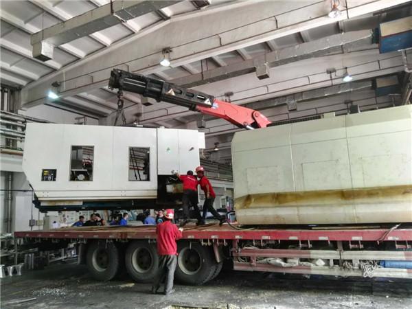 精密设备搬运中的拆解安装及搬运过程难点分析