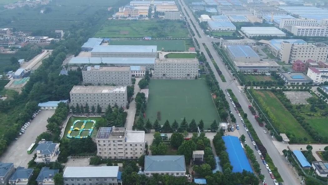 陕西省国防教育训练基地全景