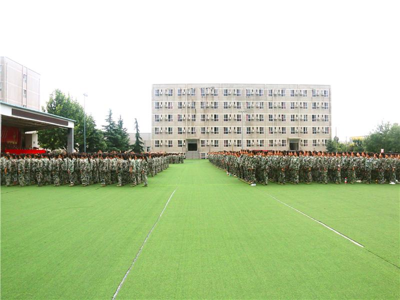 西安文理学院2019级军训