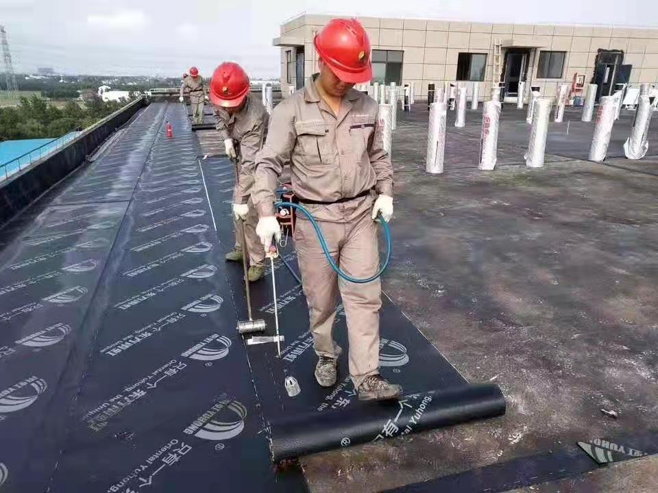 四川SBS沥青卷材防水工程现场展示图