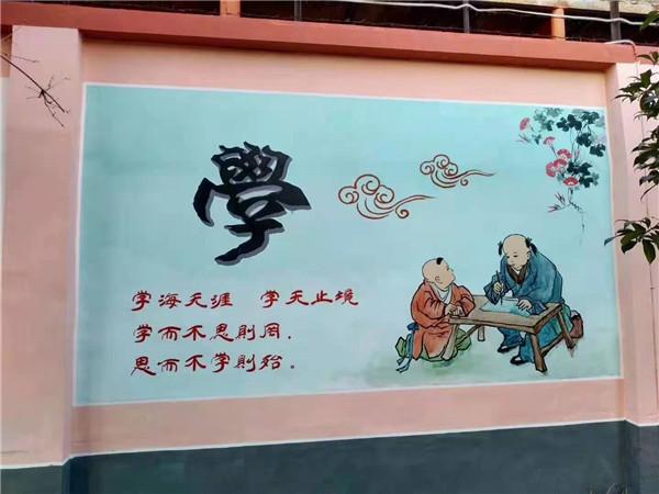 河南墙体彩绘施工