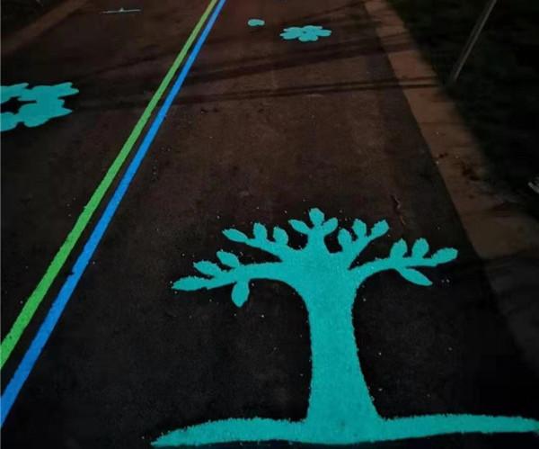河南路面彩绘施工