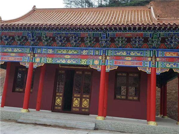 河南古建筑建设