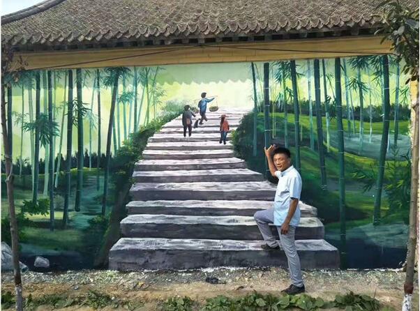墙体彩绘方法都有哪些?小编带你了解墙绘壁画艺术?