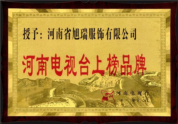 河南电视台上榜单位