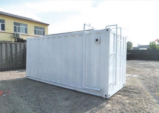 集 裝 箱一 體 化 污 水 處 理 設 備