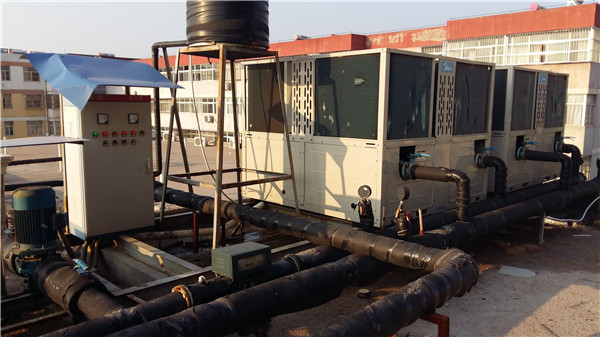三原滨港温泉中央空调项目