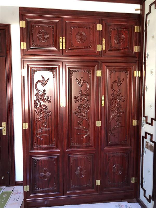 西安衣柜定制安装案例