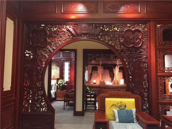 西安木雕定制安装案例