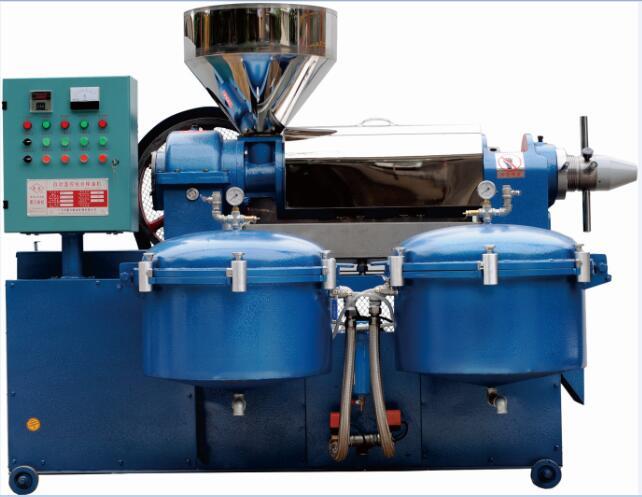 成都自动温控过滤组合榨油机