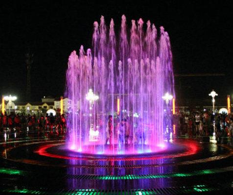 音乐喷泉工程中水压升降系统的应用