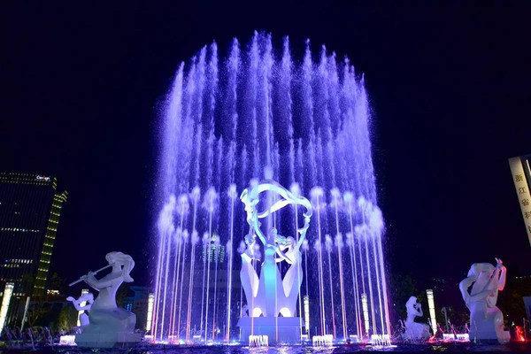 大型音樂噴泉