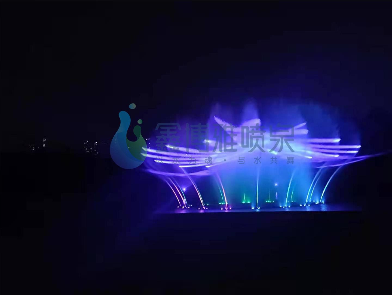 江门超大型湖面激光水幕电影秀