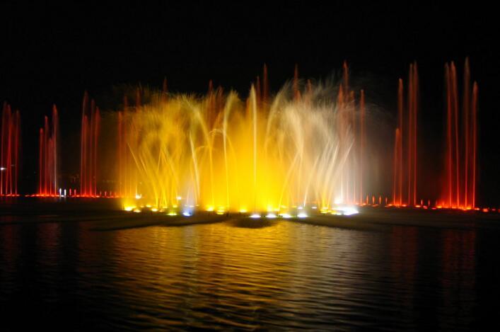 音乐喷泉安装