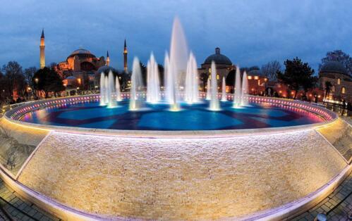 四川喷泉安装