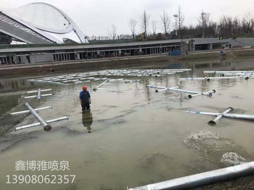 关于湖面喷泉建设