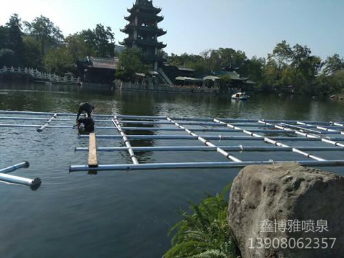 喷泉建设对水质的要求
