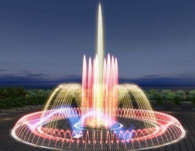 成都音乐喷泉