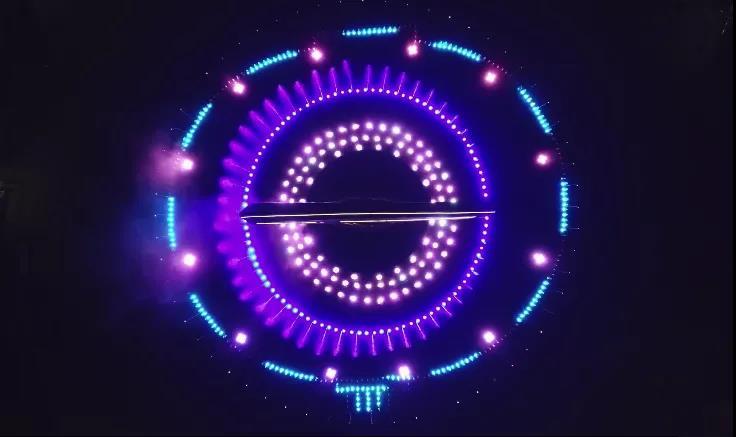"""音乐喷泉成为""""网红喷泉""""的魅力"""