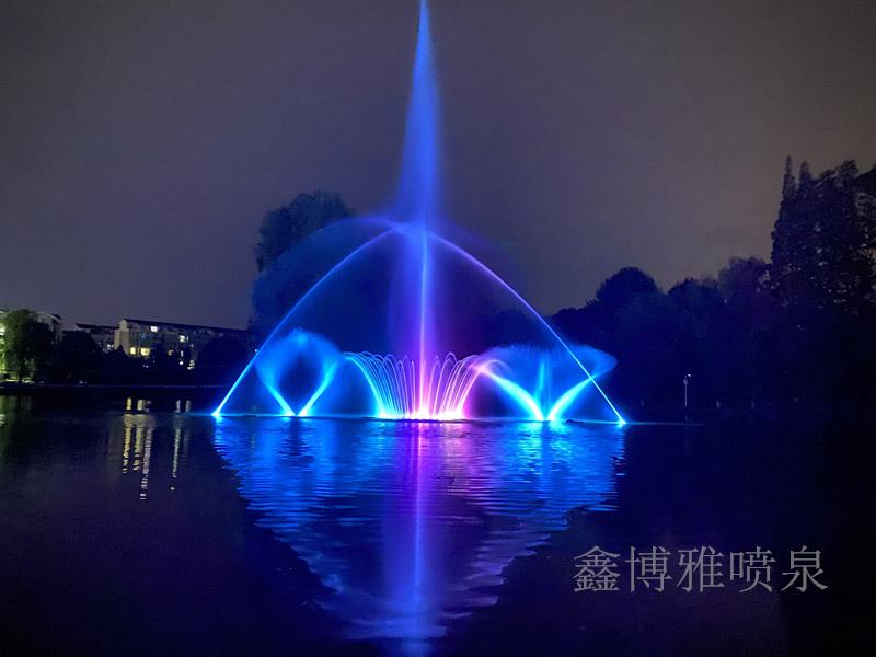 安德活水公园新增城市打卡点——湖面音乐亚博体育官网下载地址建成