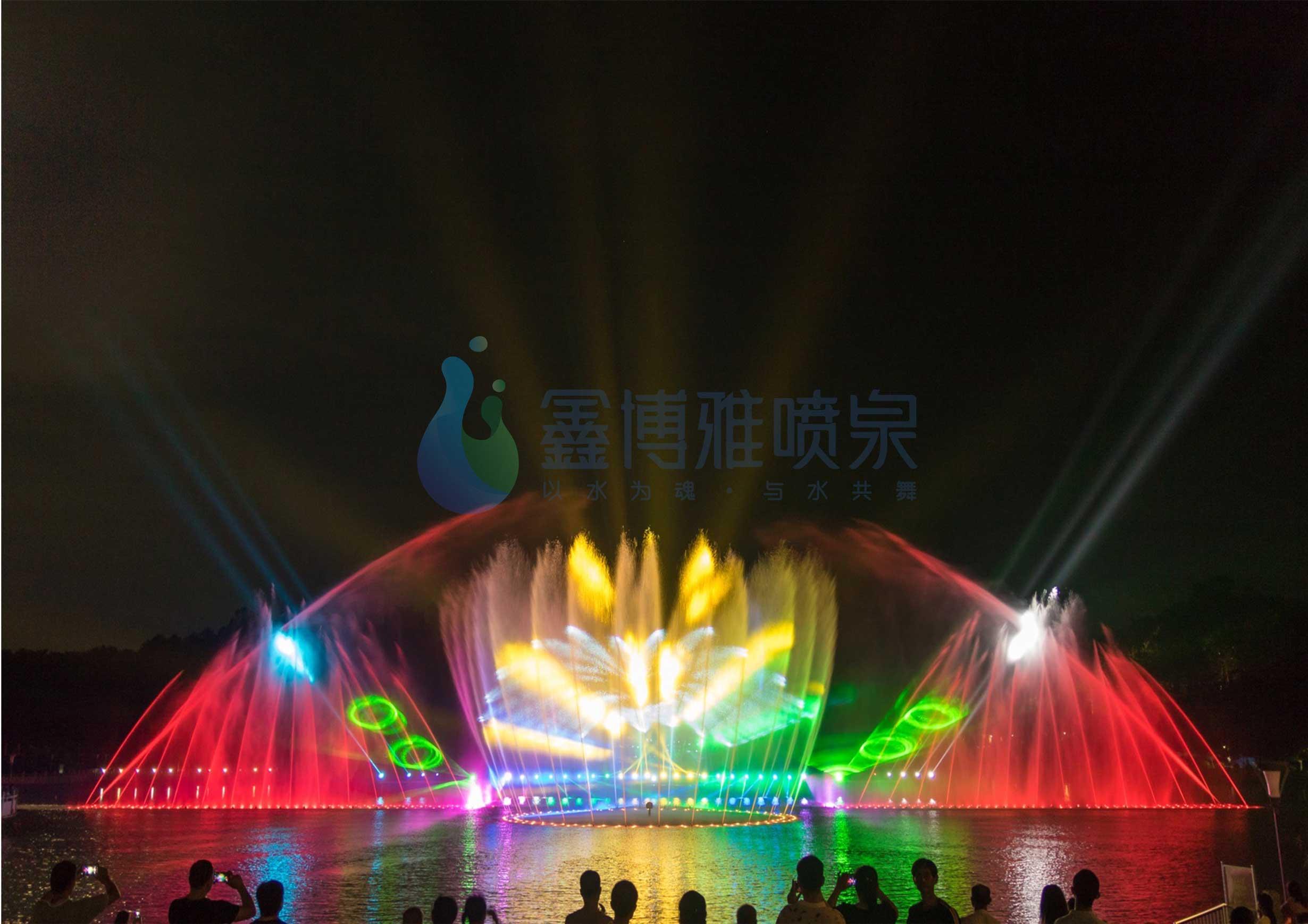 成都音乐喷泉工程