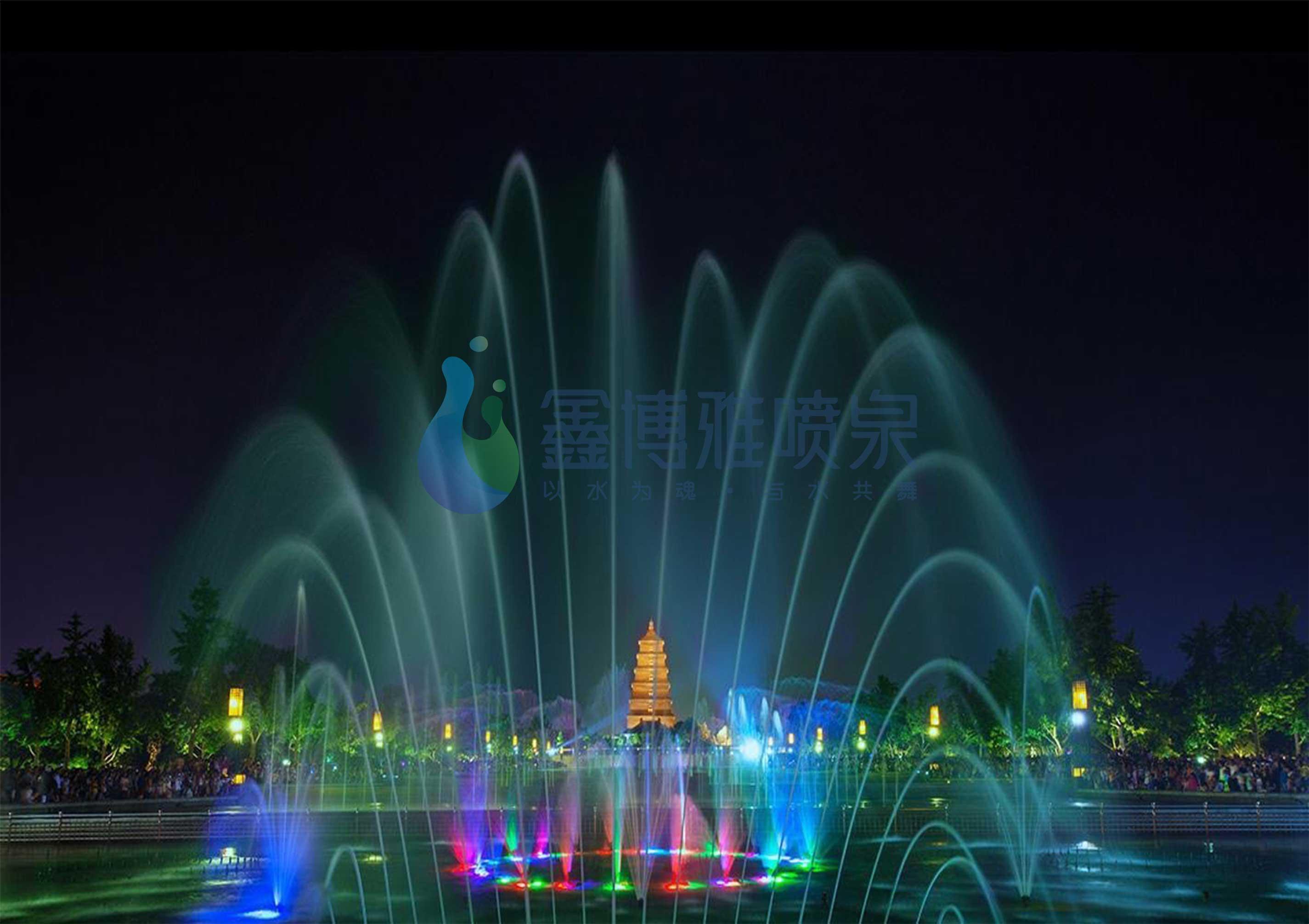 成都程控喷泉