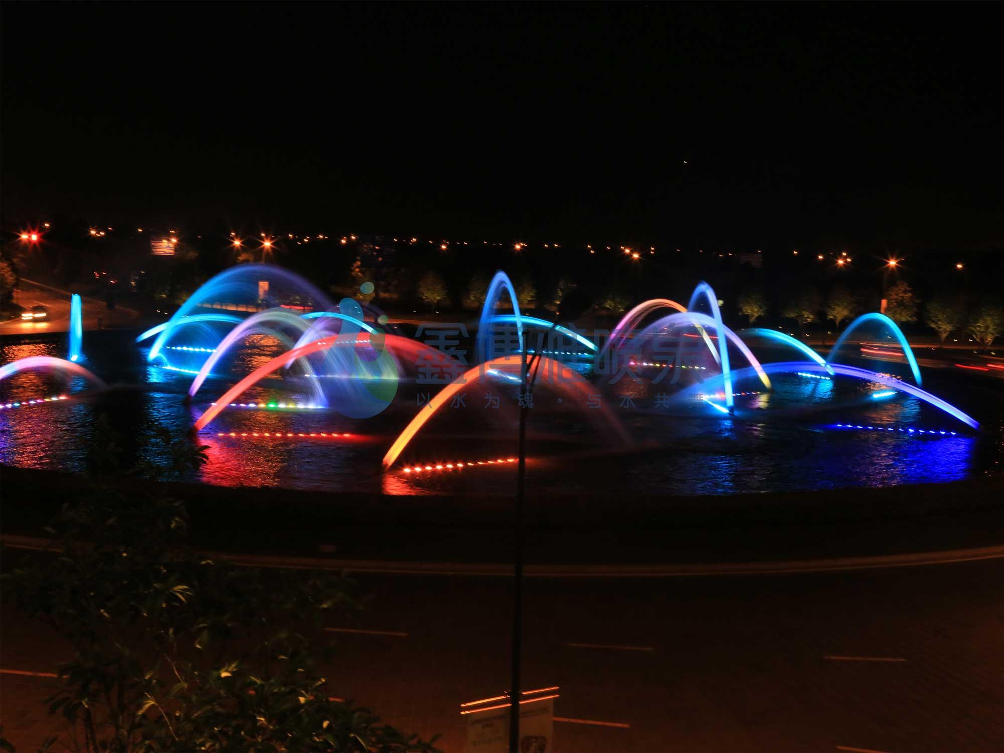 成都波光喷泉