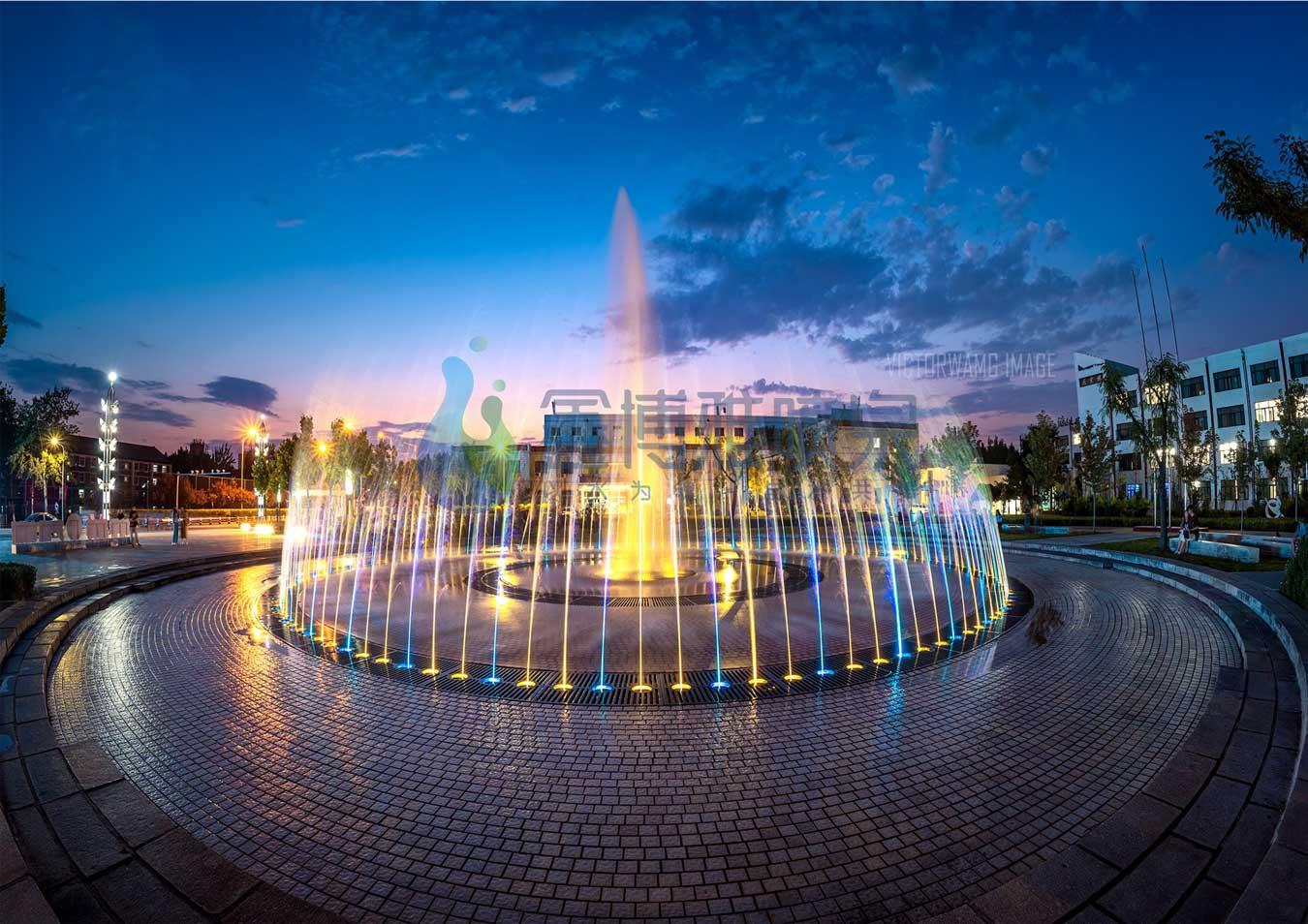 成都旱式喷泉