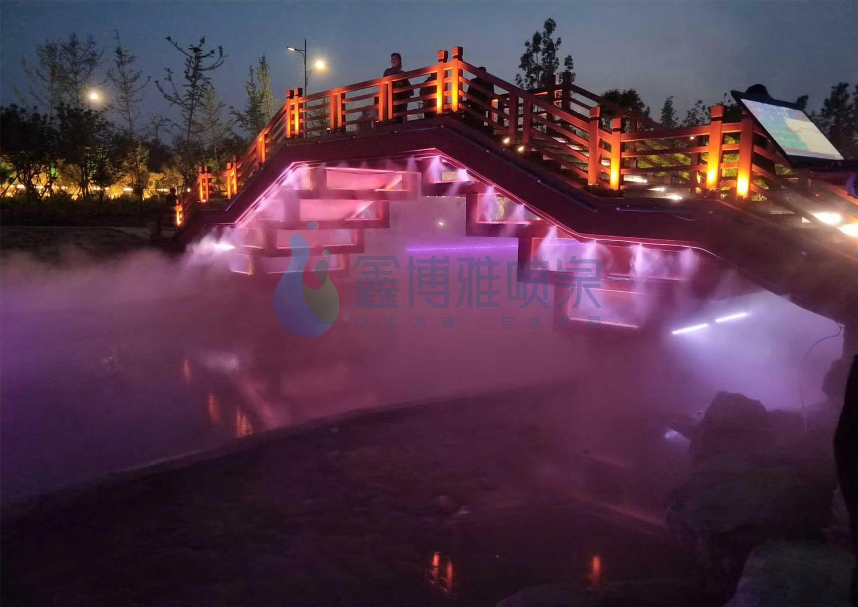 冷雾喷泉工程
