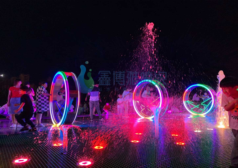 体感互动喷泉