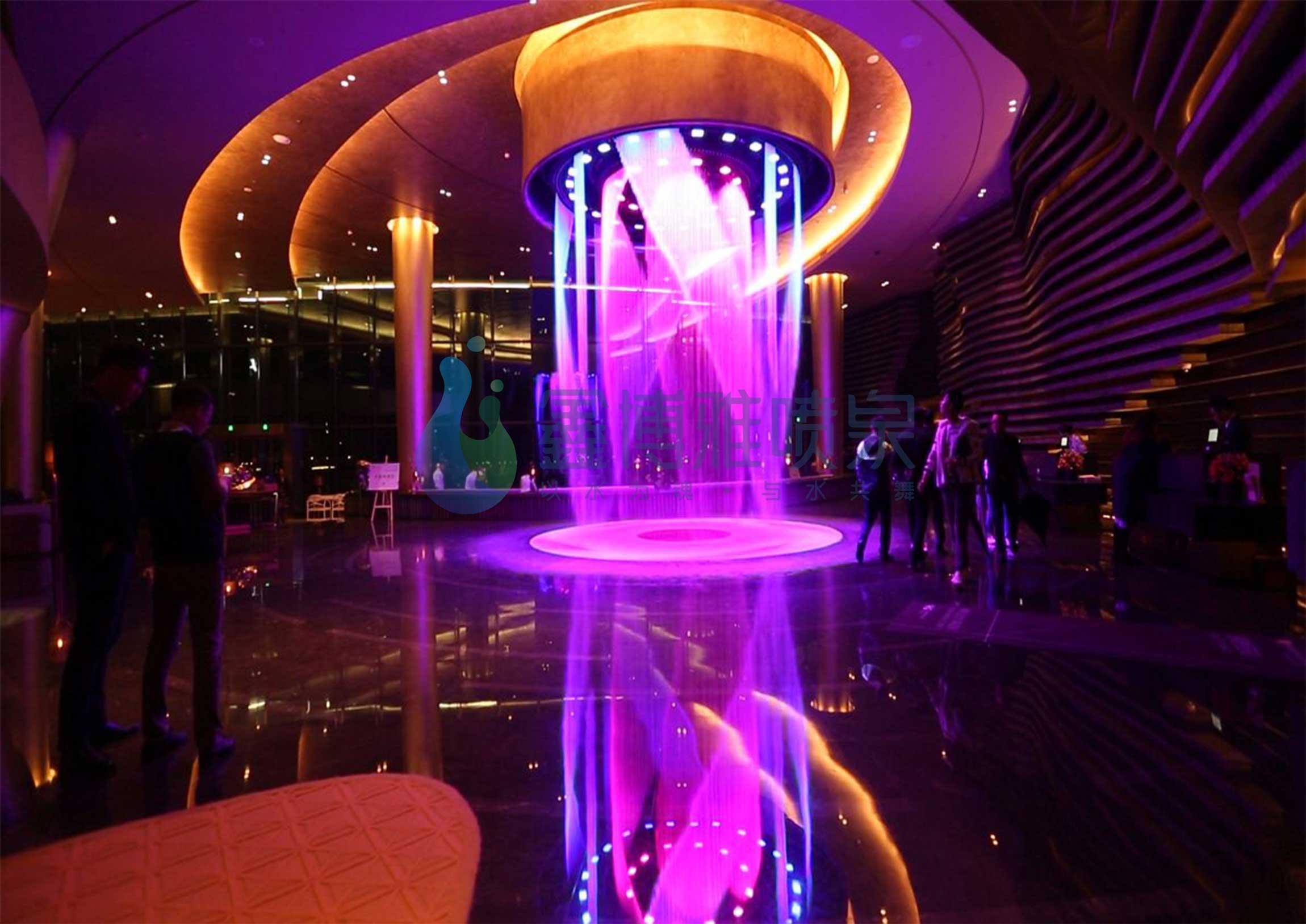 成都水帘喷泉