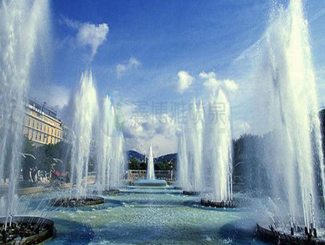超高喷泉设计