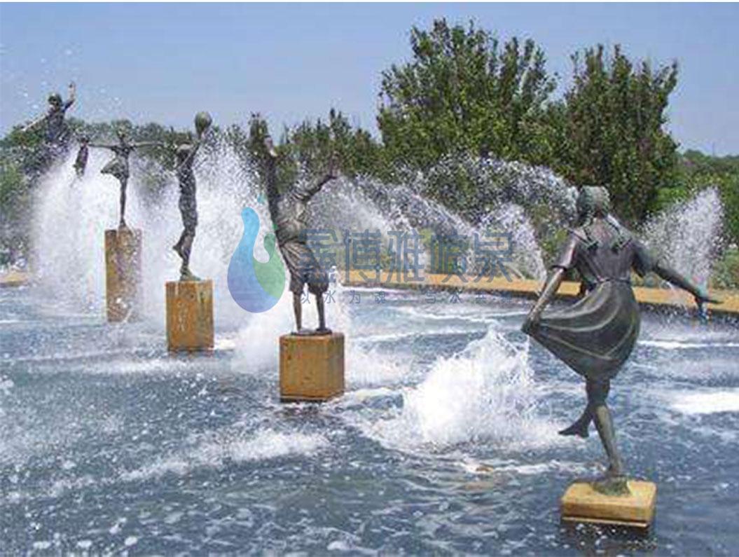 四川趣味喷泉设计