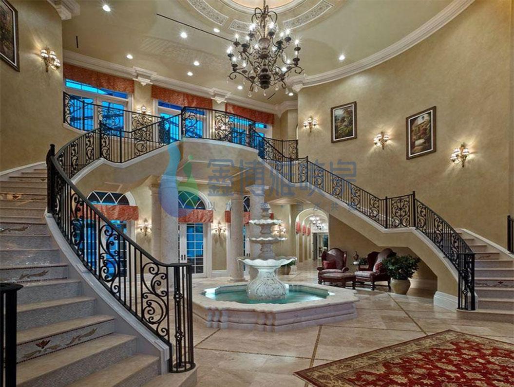 室內噴泉安裝