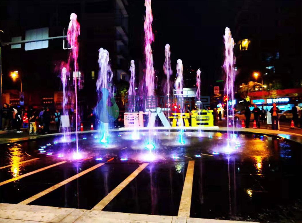 川音丝竹路旱喷泉