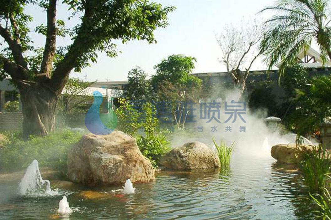 冷雾喷泉设计