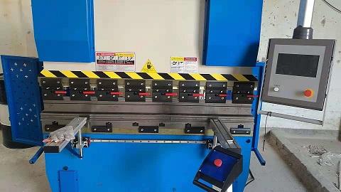 西安地铁门禁专用加工,感谢李总采购我们的40/1600双伺服数控折弯机