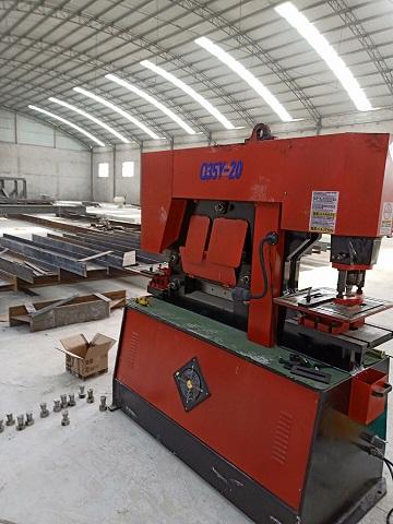 晋城李总采购陕西剪板机系列产品20联合冲剪机
