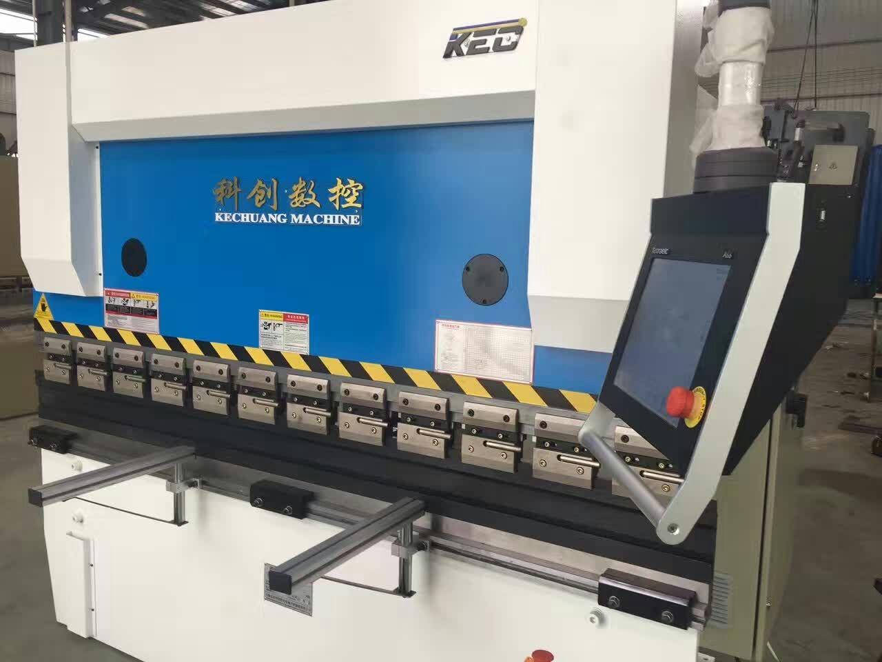 泾阳中通门业采购陕西折弯机系列产品63/2500型号数控折弯机一台