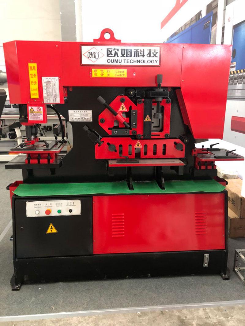 陕西冲剪机系列产品Q35Y-20型号设备安装调试结束