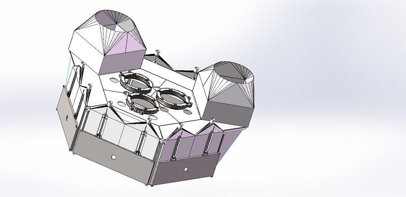 陕西工业硅炉烟罩系统