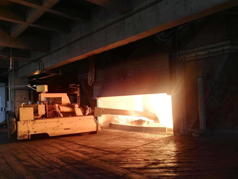 陕西铁合金炉安装案例