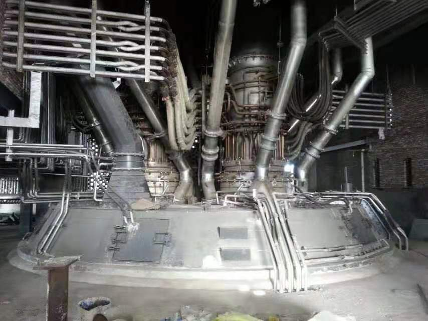 铁合金炉安装