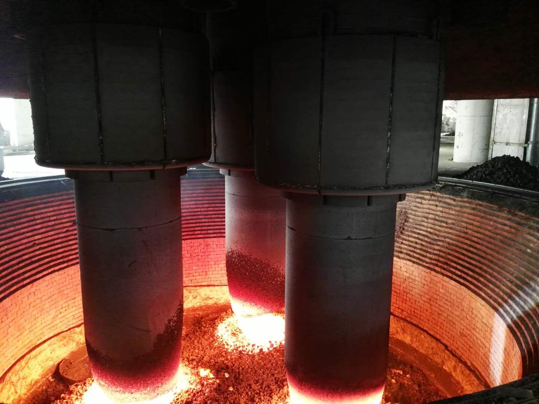 工业硅炉碳砖炉眼损毁应如何进行修复?