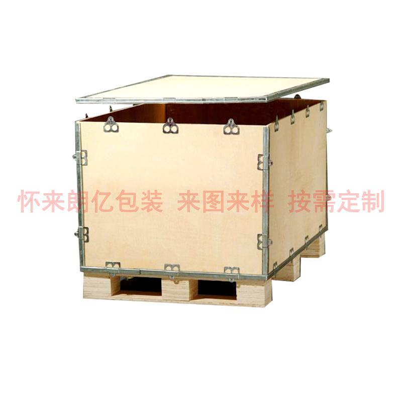 张家口钢边木箱