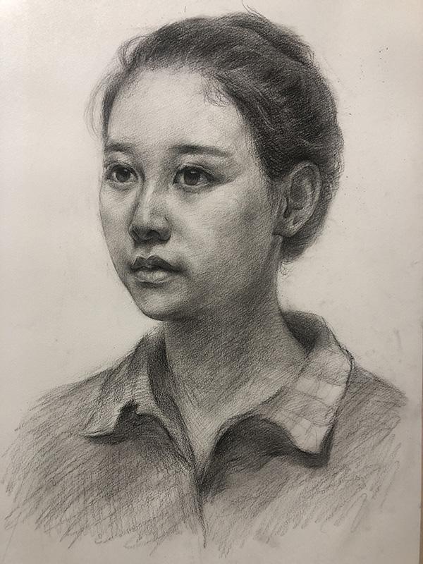 樊老师素描作品